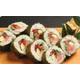 Futo salmon/ tuna and cucumber maki