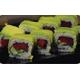 Tuna cucumber inside avocado roll