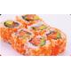 Tuna avocado ebiko roll