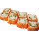 Ebiko crab stick roll