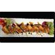 Fried teriyaki chicken roll
