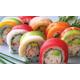 Spicy rainbow roll