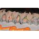 Spicy tobiko cuttle crab stick roll