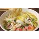 Seafood somen noodles