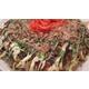 Japanese style seafood pork pancake