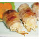 Pork and mushroom roll BBQ