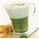 Green tea capuchino