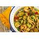 Maccheroni Gamberoni e zucchine