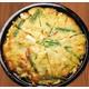 Crispy seafood and scallion pancake