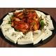 Tofu with saute kimchi & pork