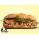 Vietnamese meatball bread