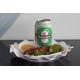 Sausage - Heineken beer