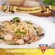 Chicken & mushroom spaghetti