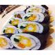 Deep fried shrimp kimbap