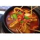 Fish cake stew soup