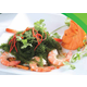 Seaweed and shrimp salad