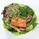 P4. Salmon Steak Spinach Salad (NEW)
