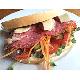 Bacon, salami & sandwich