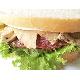 Chicken & salami sandwich
