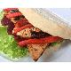 Slim pork sandwich