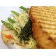 Asparagus & chicken panini
