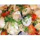 Spaghetti with clams sauce