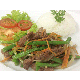 Stir fried green bean with beef