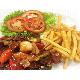 Shaking beef (fries/rice)