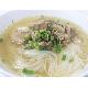 Noodle with pork rid soup