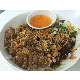 Rice vermicelli with grilled pork