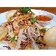 Vietnamese mixed salad with shrimp, pork