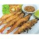 Grilled shrimp with chili salt