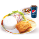 C2- 1pc Chickenjoy with rice + Soup + Softdrink
