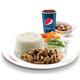 Minced Pork RM + Chicken Soup + Softdrink