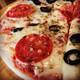 Callo salami pizza