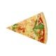 Shrimp scallop pizza