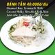 Steamed Rice Vermicelli with Coconut Milky Shredded Pork Skin