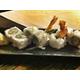 Shrimp furai sushi rolls