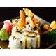 Prawn tempura rolls