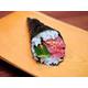 Tuna sushi hand-roll