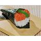 Salmon sushi hand-roll