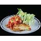 Roasted corn & tomato salad