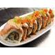 Aburi salmon cheese roll