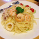 Seafood Cream Spagetty