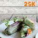 Vegetables fresh spring rolls (3 pcs)