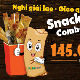 Snack combo (5 person)