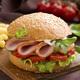 Jambon burger