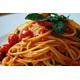 Spaghetti con Pomodorini e Basilico