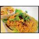 Crispy catfish salad with green mango sauce