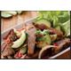 Spicy grilled pork neck/beef salad